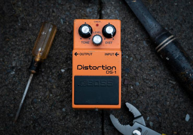 """""""Boss Distortion DS-1,""""from Buddy Beaudoin'sPedalsmut Series"""